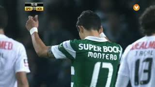 Sporting CP, Jogada, Montero aos 78'