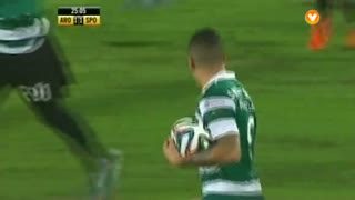 GOLO! Sporting CP, Marcos Rojo aos 25', FC Arouca 1-1 Sporting CP