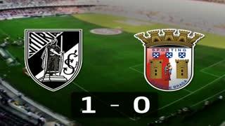 Liga (30.ª J): Resumo V. Guimarães 1-0 Sp. Braga