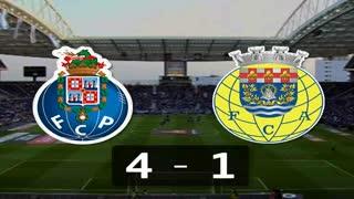 I Liga (22ªJ): Resumo FC Porto 4-1 FC Arouca