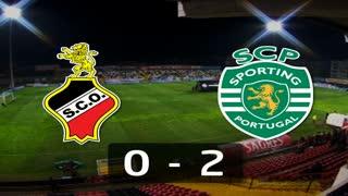 Liga (4ª J): Resumo Olhanense 0-2 Sporting