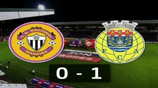 Liga (4ª J): Resumo Nacional 0-1 Arouca