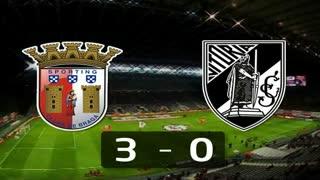 Liga (15.ª Jornada): Resumo Sp. Braga 3-0 V. Guimarães