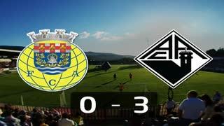 Liga (21ª J): Resumo Arouca 0-3 Académica