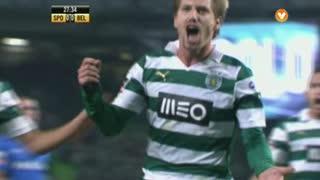 GOLO! Sporting CP, Adrien aos 27', Sporting CP 1-0 (g.p.) Belenenses