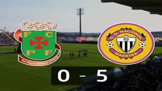 Liga (28.ª J): Resumo P.Ferreira 0-5 Nacional