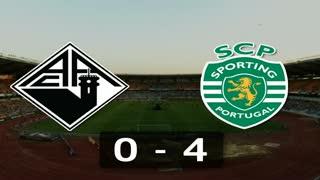Liga (2ª J): Resumo Académica 0-4 Sporting