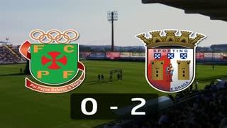 I Liga (1ªJ): Resumo FC P.Ferreira 0-2 SC Braga