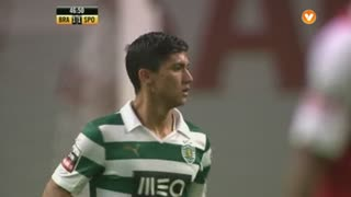 Sporting CP, Jogada, Montero aos 46'