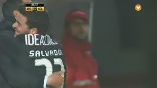 GOLO! A. Académica, Salvador Agra aos 85', FC Arouca 0-2 A. Académica