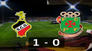 Liga (2ª J): Resumo Olhanense 1-0 P. Ferreira