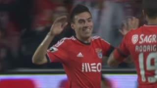 GOLO! SL Benfica, Gaitán aos 28', SL Benfica 2-0 Rio Ave FC