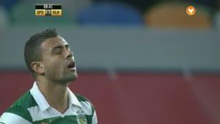 Sporting CP, Jogada, Mauricio aos 9'