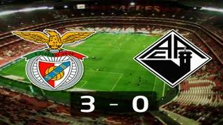Liga (24ª J): Resumo Benfica 3-0 Académica