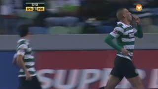 GOLO! Sporting CP, Slimani aos 52', Sporting CP 1-0 FC Porto