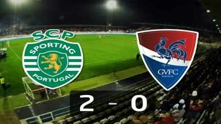 Liga (27.ª J): Resumo Sporting 2-0 Gil Vicente