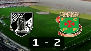 Liga (23.ª J): Resumo V. Guimarães 1-2 P. Ferreira