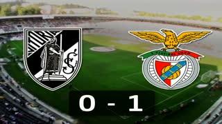 Liga (5ª J): Resumo V. Guimarães 0-1 Benfica