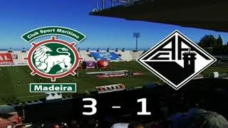 I Liga (28ªJ): Resumo Marítimo M. 3-1 A. Académica