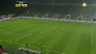 GOLO! SC Braga, Rusescu aos 66', SC Braga 2-0 Vitória SC