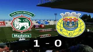 I Liga (26ªJ): Resumo Marítimo M. 1-0 FC Arouca