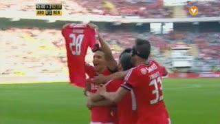 GOLO! SL Benfica, Rodrigo aos 47', FC Arouca 0-1 SL Benfica