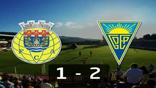Liga (2ª J): Resumo Arouca 1-2 Estoril