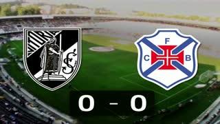 Liga (12ª J): Resumo V. Guimarães 0-0 Belenenses