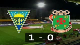 Liga (27.ª J): Resumo Estoril 1-0 P. Ferreira