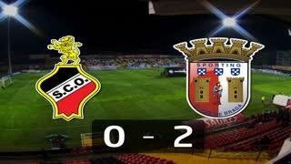 Liga (26.ª J): Resumo Olhanense 0-2 Sp. Braga