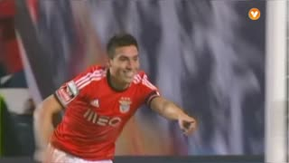 GOLO! SL Benfica, Gaitán aos 27', SL Benfica 1-0 Sporting CP