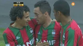 GOLO! Marítimo M., Artur aos 45', Marítimo M. 2-0 Belenenses