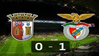I Liga (25ªJ): Resumo SC Braga 0-1 SL Benfica