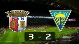 Liga (4ª J): Resumo Sp. Braga 3-2 Estoril