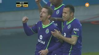 GOLO! Sporting CP, Adrien Silva aos 3', Marítimo M. 0-1 Sporting CP