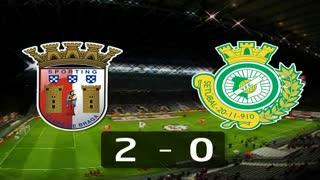 I Liga (13ªJ): Resumo SC Braga 2-0 Vitória FC