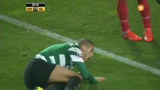 Sporting CP, Jogada, Slimani aos 70'