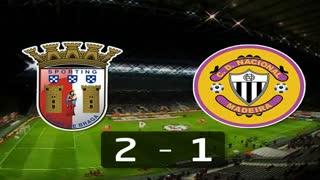 I Liga (22ªJ): Resumo SC Braga 2-1 CD Nacional