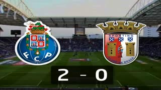 Liga (12ª J): Resumo FC Porto 2-0 Sp. Braga