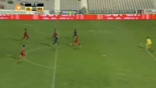 SC Braga, Jogada, Felipe Pardo aos 28'