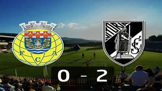 Liga (13ª Jornada): Resumo Arouca 0-2 V. Guimarães