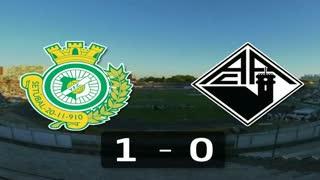 Liga (12ª J): Resumo V. Setúbal 1-0 Académica