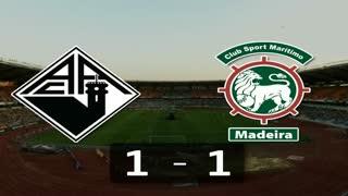 I Liga (13ªJ): Resumo A. Académica 1-1 Marítimo M.