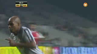 GOLO! SC Olhanense, Celestino aos 56', SC Braga 2-1 ( SC Olhanense