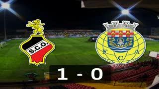 Liga (8ª J): Resumo Olhanense 1-0 Arouca