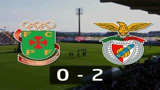 Liga (19ª J): Resumo P.Ferreira 0-2 Benfica