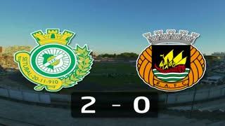 I Liga (17ªJ): Resumo Vitória FC 2-0 Rio Ave FC