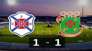 I Liga (25ªJ): Resumo Os Belenenses 1-1 FC P.Ferreira