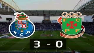 I Liga (18ªJ): Resumo FC Porto 3-0 FC P.Ferreira