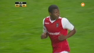 SC Braga, Jogada, Núrio aos 42'
